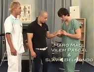 Maro Madl gay clinic examination