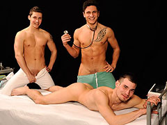 Lukas, Rudy and Samuel gay clinic examination