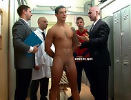 Star footballer Miguel is ushered into team's private locker room and immediately ordered to strip. He doesn't dare raise any objection to any prying or inspection from the confident men with a millio...